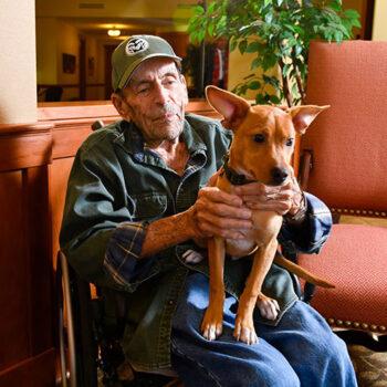 gentleman-with-dog